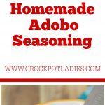 Homemade Adobo Seasoning Mix