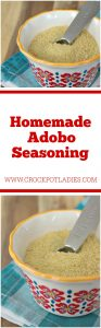 Homemade Adobo Seasoning Mix