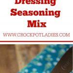 Homemade Italian Dressing Seasoning Mix