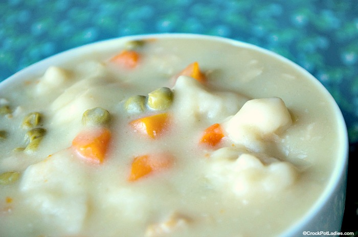 Crock-Pot Chicken & Dumplings