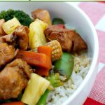 Crock-Pot Teriyaki Chicken - Whip up some Chinese Crock-Pot Teriyaki Chicken with this simple recipe. Serve over steamed rice or noodles and enjoy this delicious entree any night of the week. Tender chicken is simmered in the slow cooker with pineapple in a yummy Asian sauce and steamed veggies are added near the end so they don't get mushy. Just 4 Weight Watchers SmartPoints per serving! {via CrockPotLadies.com} #CrockPot #SlowCooker #Recipes #GlutenFree #LowCalorie #LowFat #Healthy #WeightWatchers