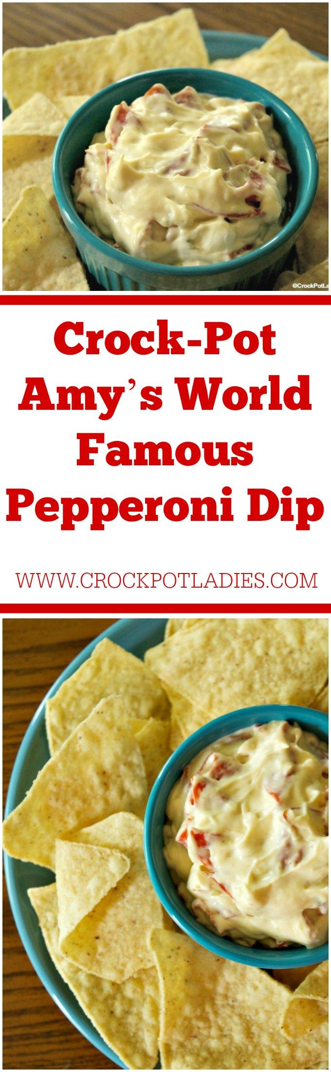 Crock-Pot Amy's World Famous Pepperoni Dip