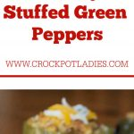 Crock-Pot Country Stuffed Green Peppers