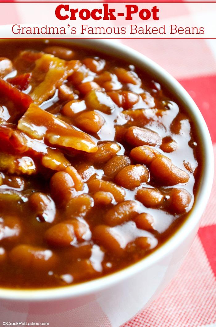 Crock-Pot Grandma's Famous Baked Beans Recipe