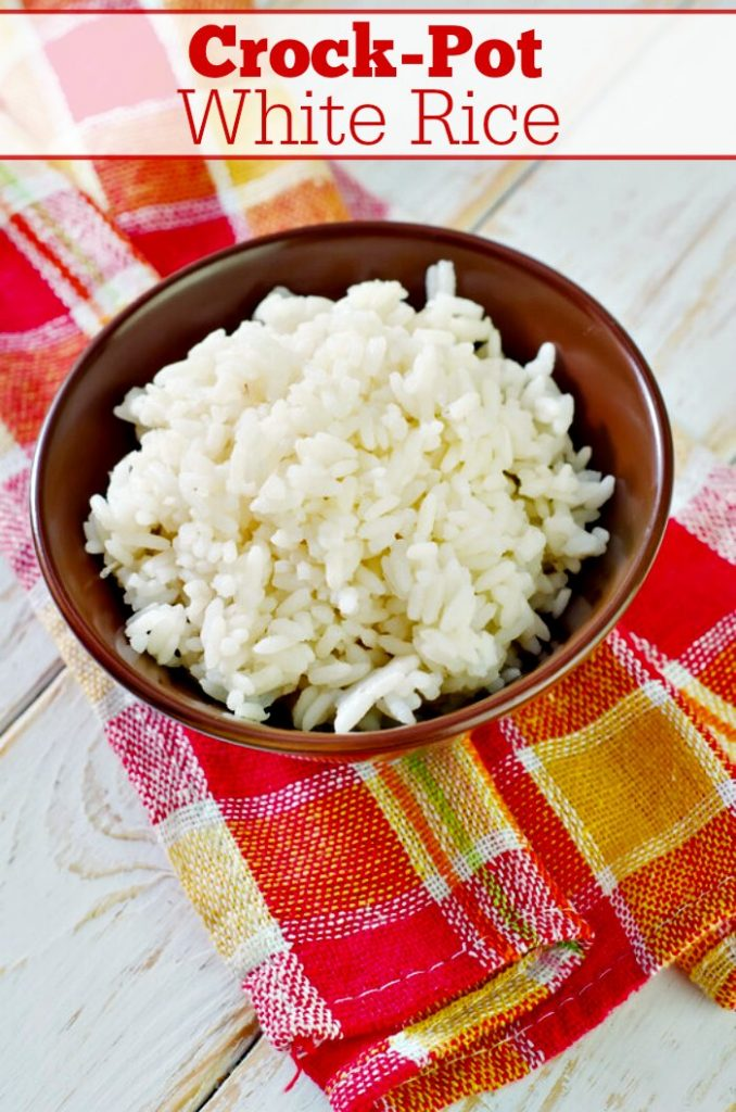 Crock-Pot White Rice