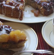 Crock-Pot Apple Cranberry Coffee Cake