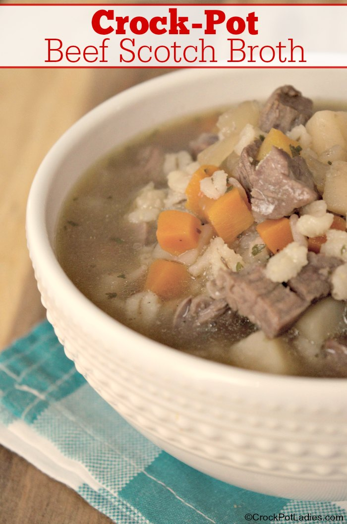 Crock-Pot Beef Scotch Broth