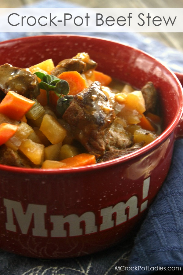 Crock Pot Beef Stew Crock Pot Ladies