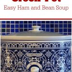 Crock-Pot Easy Ham and Bean Soup