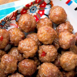 Crock-Pot Party Meatballs