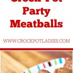 Crock-Pot Party Meatballs