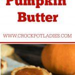 Crock-Pot Pumpkin Butter