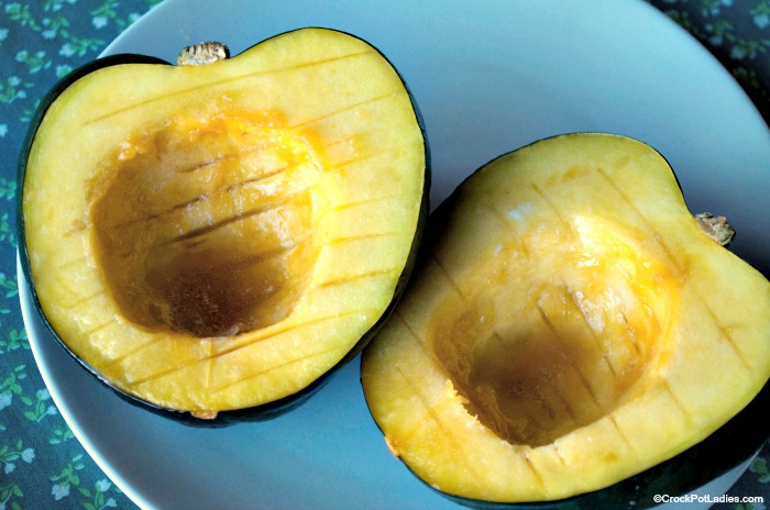 Crock-Pot Sweet Acorn Squash