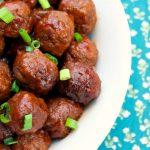 Crock-Pot Sweet And Spicy Meatballs