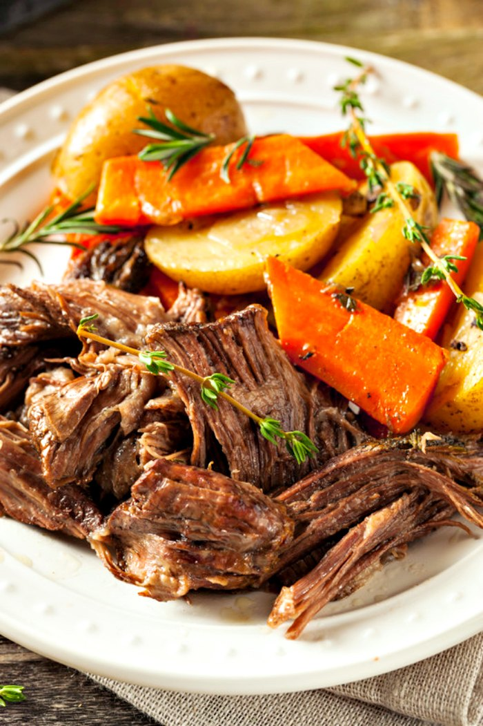 Crock-Pot Venison Roast