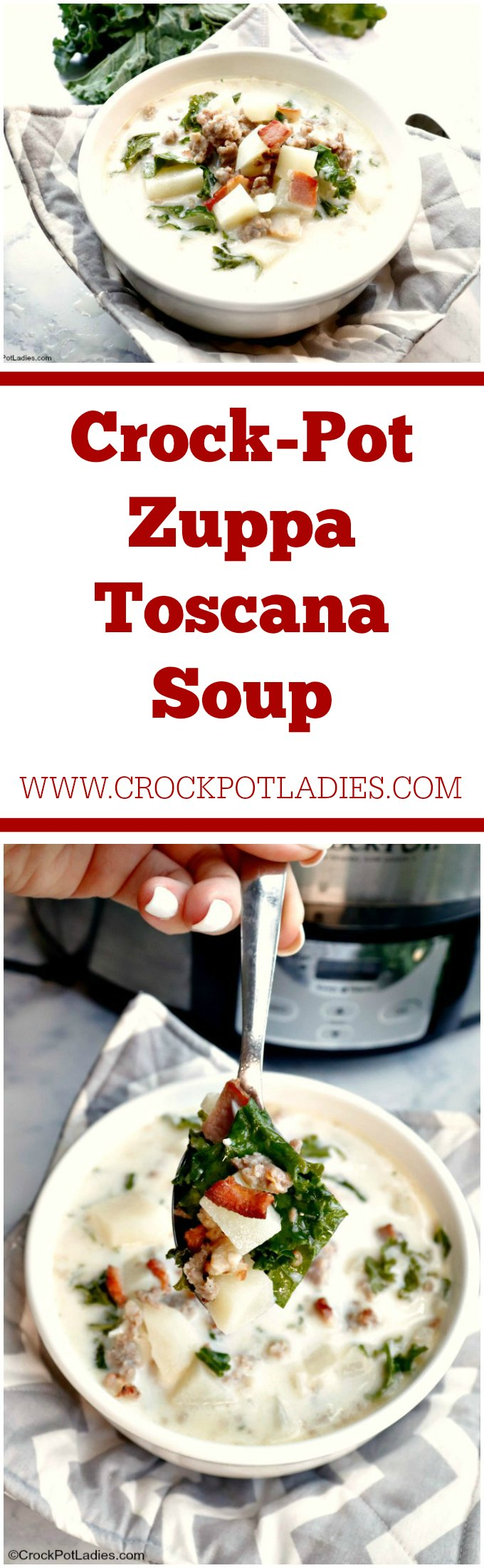 Crock-Pot Zuppa Toscana Soup
