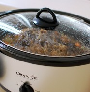 Food Cooking In Crock-Pot