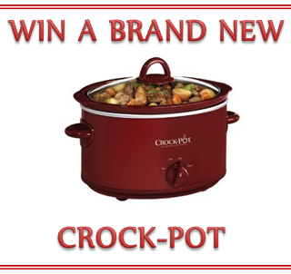 February 2012 Crock-Pot Giveaway!