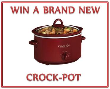 June Crock-Pot Giveaway!