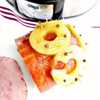 Crock-Pot Baked Pineapple Ham