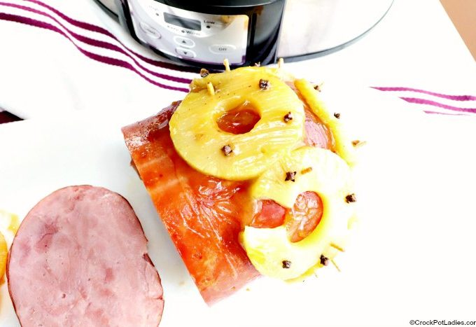 Crock-Pot Baked Pineapple Ham