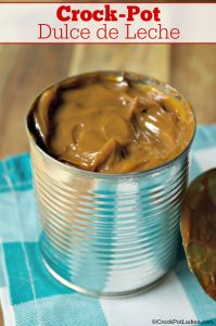 Crock-Pot Dulce de Leche