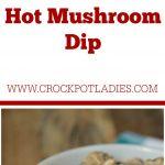 Crock-Pot Hot Mushroom Dip