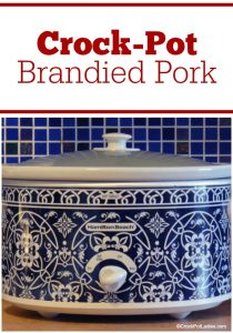 Crock-Pot Brandied Pork