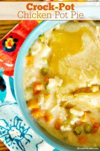 Crock-Pot Chicken Pot Pie