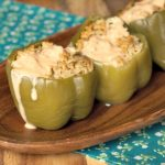 Crock-Pot Chicken Stuffed Green Peppers