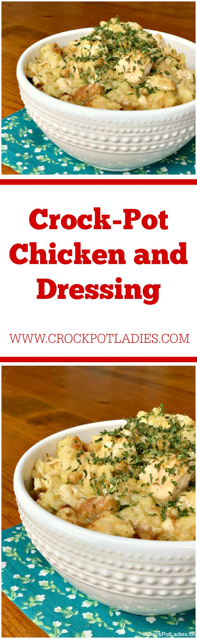 Crock-Pot Chicken and Dressing