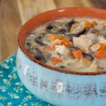 Crock-Pot Creamy Chicken Mushroom Soup