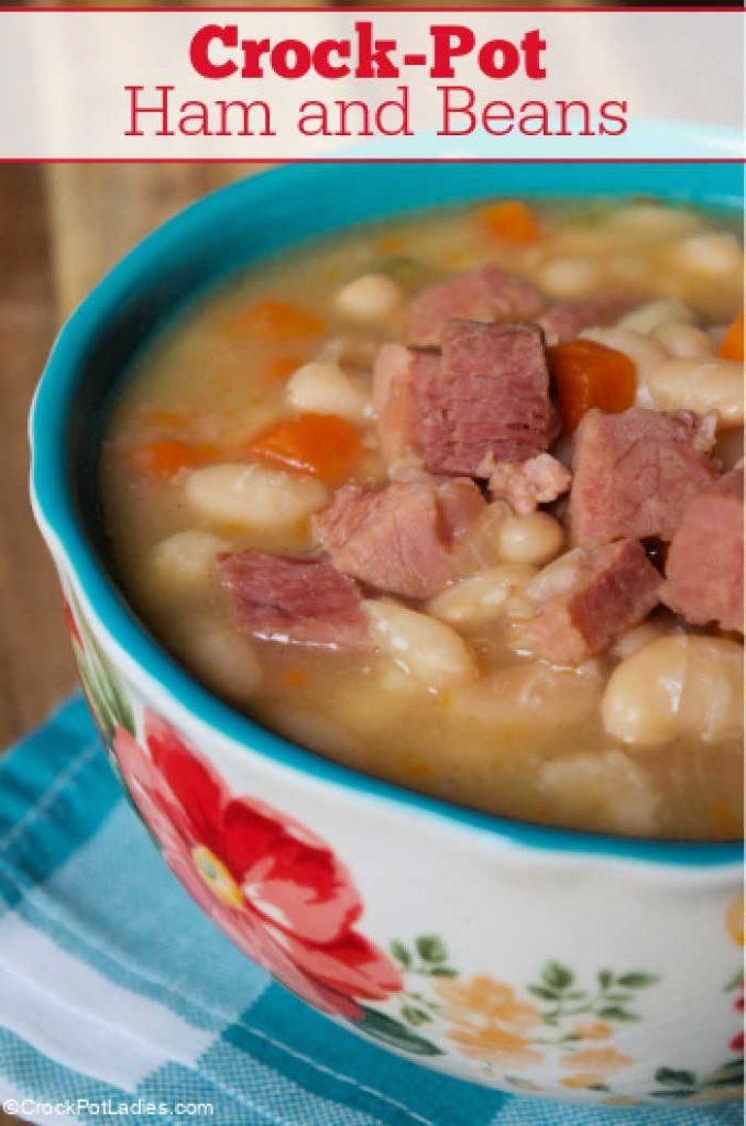 Crock-Pot Ham and Beans