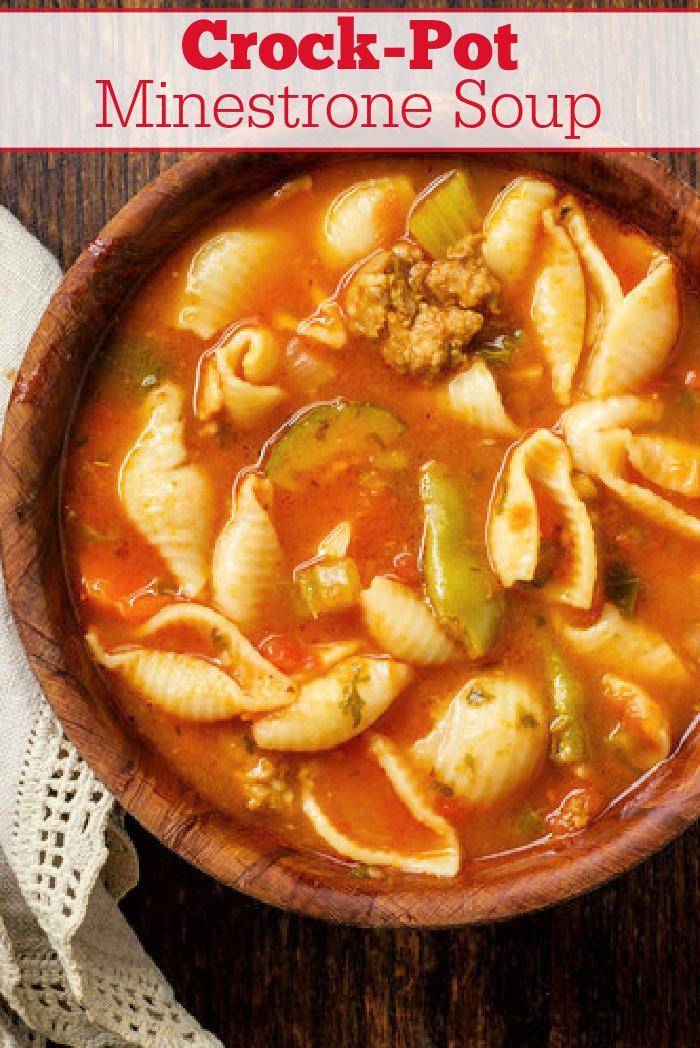 Crock-Pot Minestrone Soup