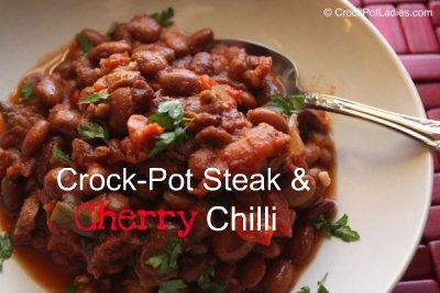 Crock-Pot Steak & Cherry Chili