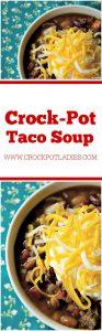 Crock-Pot Taco Soup