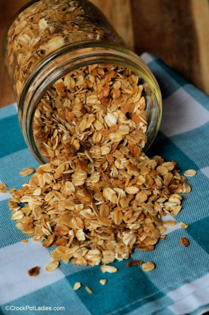 Crock-Pot Basic Granola