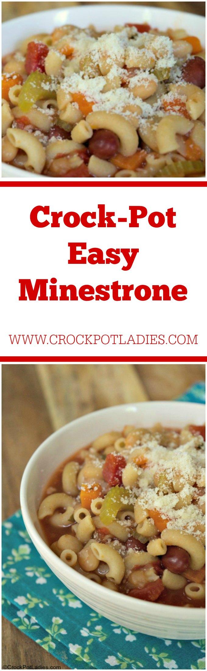Crock-Pot Easy Minestrone