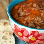 Crock-Pot Hearty Beef and Mushroom Soup