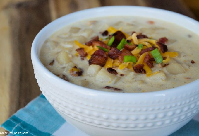Crock-Pot Loaded Baked Potato Soup