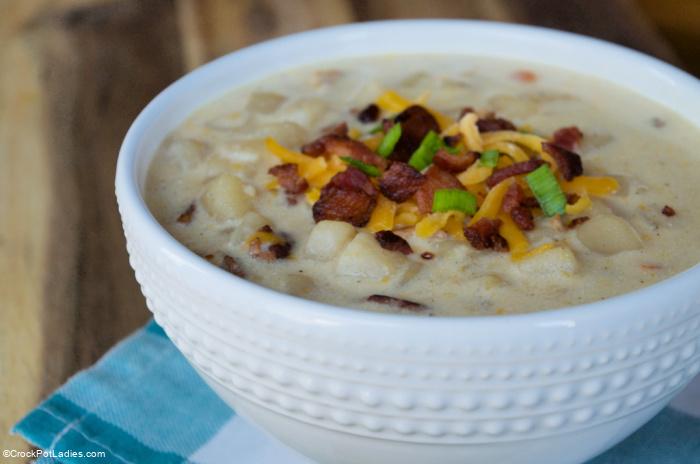 Crock-Pot Loaded Baked Potato Soup