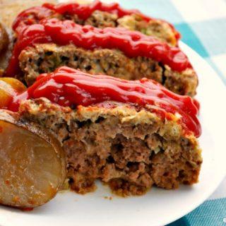 Crock-Pot Mom's Meatloaf and Potatoes