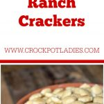 Crock-Pot Ranch Crackers