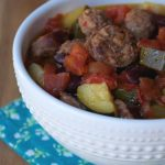 Crock-Pot Sausage Stew