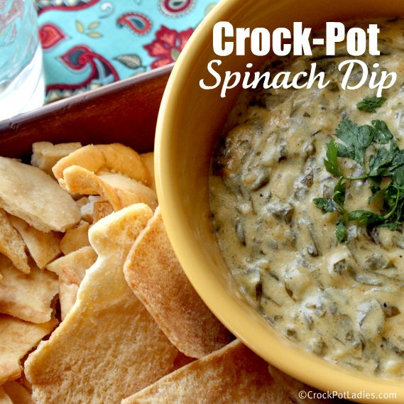 Crock-Pot Warm Spinach Dip