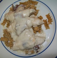 crock-pot bacon garlic chicken