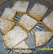 crock-pot key lime squares