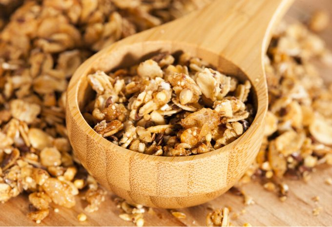 Crock-Pot Applesauce Granola