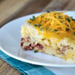 Crock-Pot Bacon & Egg Casserole