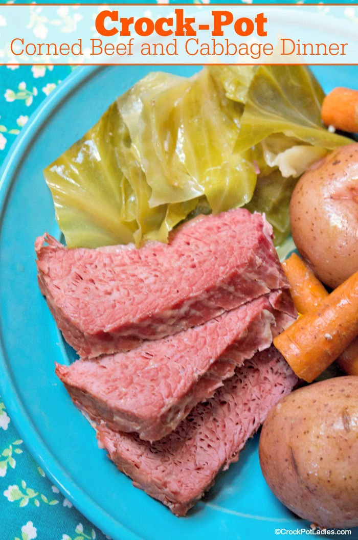 Crock-Pot Corned Beef and Cabbage Dinner
